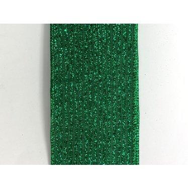 Ruban paillettes vert