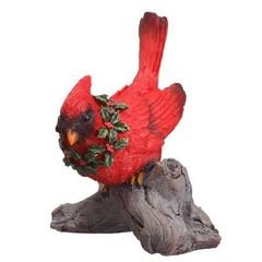 Cardinal couché sur branche