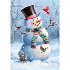 Drapeau - Bonhomme de neige