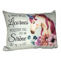 Coussin - Les licornes n'existent pas