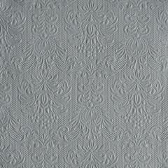 Serviettes de table carrées élégance gris