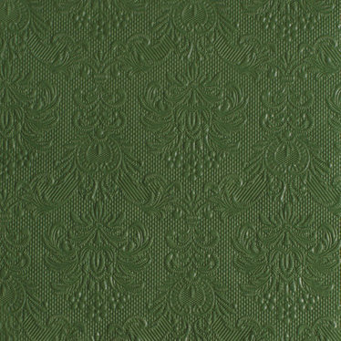 Serviettes de table carrées élégance vert