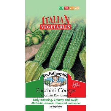 Courge Zucchini Romanesco