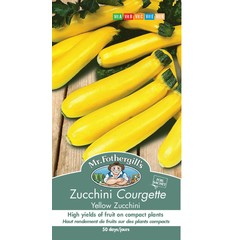 Courgette Yellow Zucchini