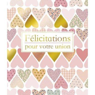 Carte -  Félicitations pour votre union