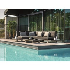 Life Outdoor Living Ensemble sectionnel Fitz Roy aluminium