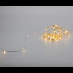 Fil lumières blanc chaud électrique (100) 33 pieds
