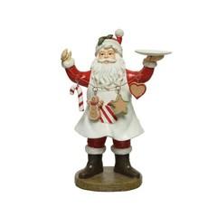Figurine Père-Noël cuisinier