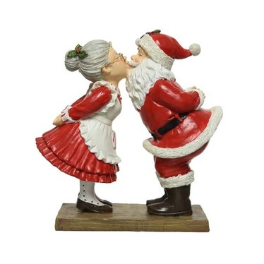 Figurine Père-Noël et Mère-Noël