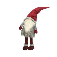 Signé Garneau Gnome rouge et gris avec LED