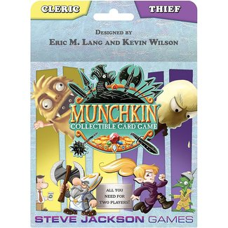 Munchkin Collectible Card Game 12 Card boosters 24 Packs