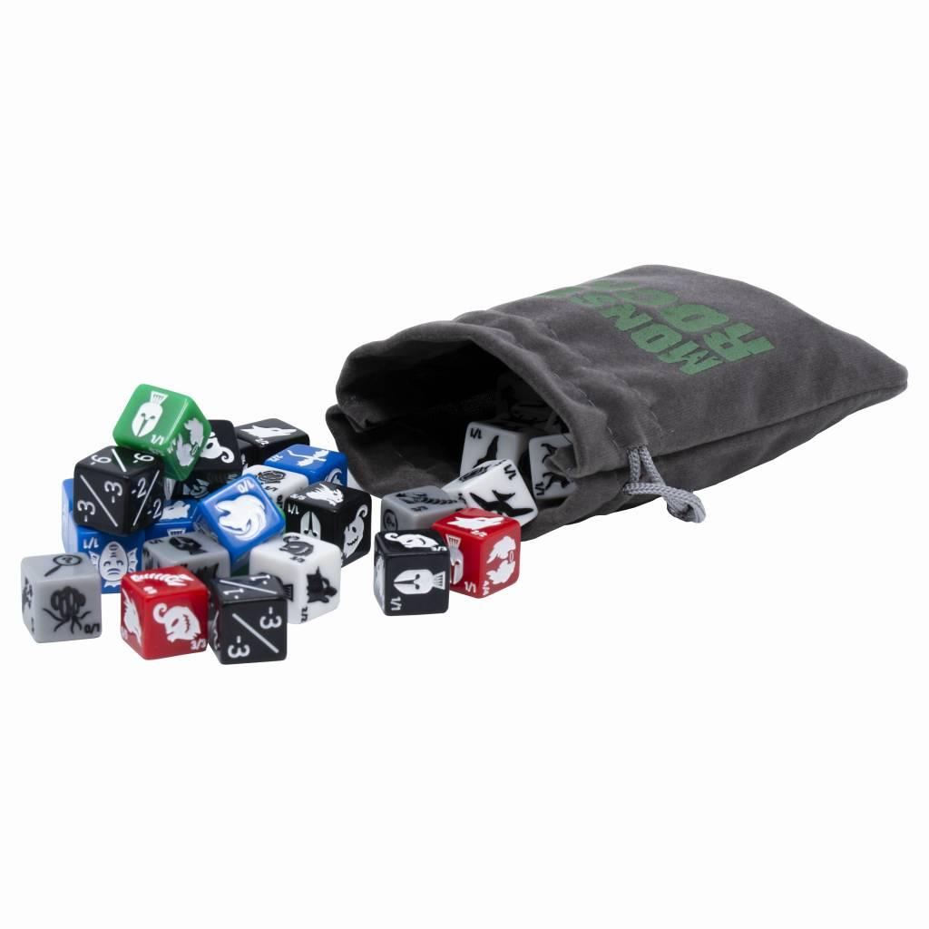 Monster Rocks Dice Bag for Retailers