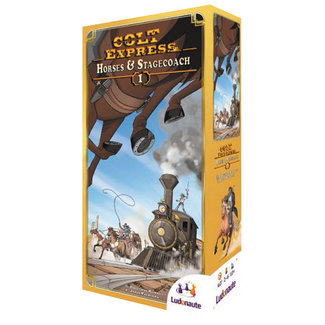 Ludonaute Colt Express Horses & Stagecoach Expansion