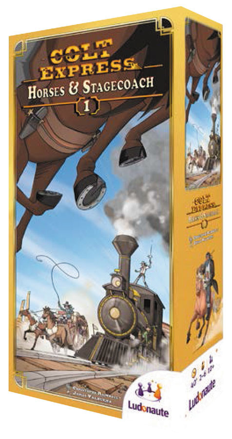Asmodee North America Colt Express Horses & Stagecoach Expansion