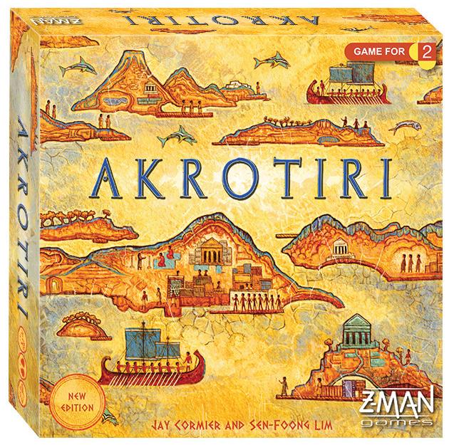 Z-Man Games Akrotiri Revised