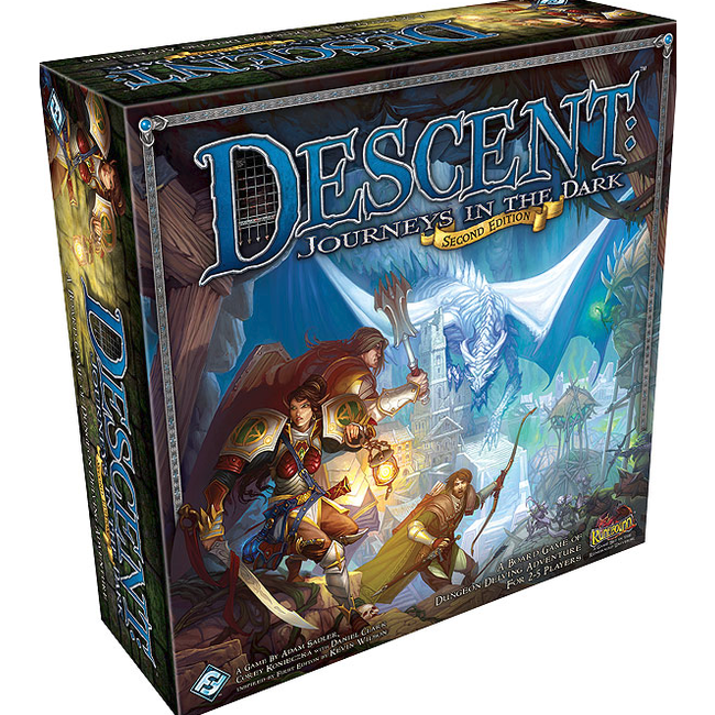 Fantasy Flight Games Descent: Journeys in The Dark Second Editon