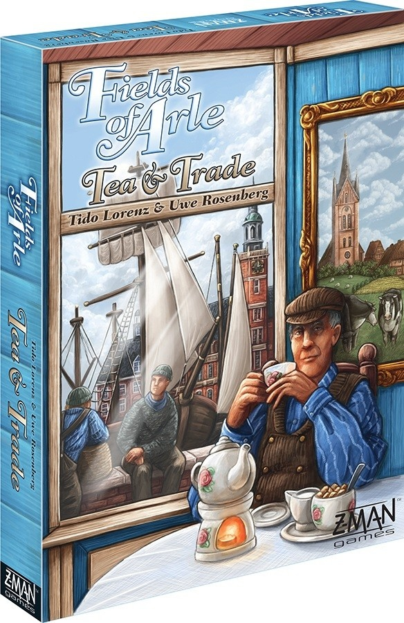 Z-Man Games Fields of Arle: Tea and Trade
