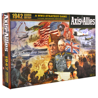 Avalon Hill Axis & Allies 1942, 2nd ed.