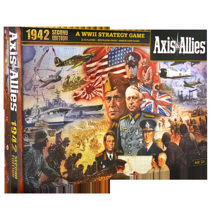 Avalon Hill Axis & Allies 1942, 2nd ed.