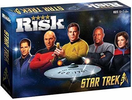 Hasbro Risk Star Trek 50th Anniversary