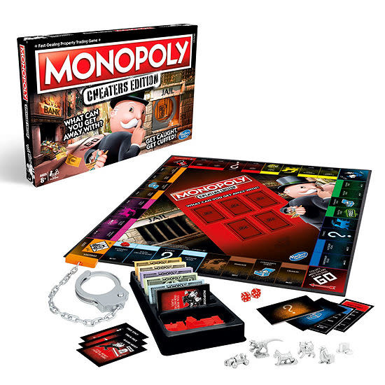 Hasbro Monopoly Cheaters Edition