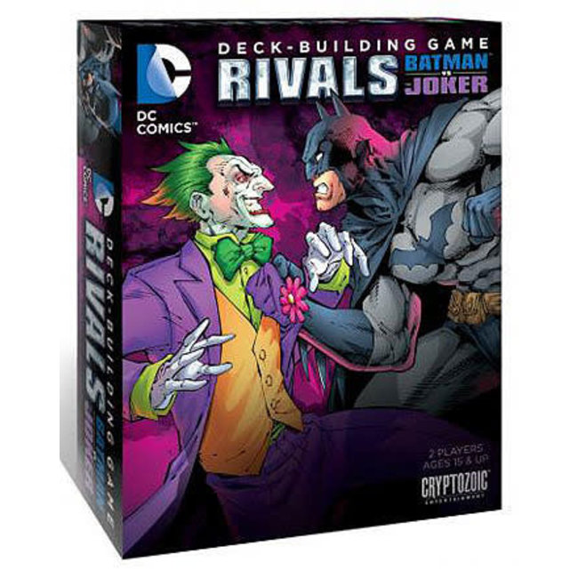 DC Deck-Building Game: Rivals Batman vs Joker