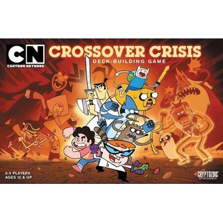 Cryptozoic Entertainment Cartoon Network Crossover Crisis Deck Building