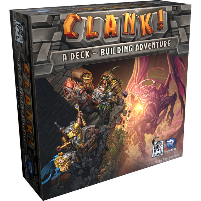 Renegade Game Studios Clank! Deck Building Adventure