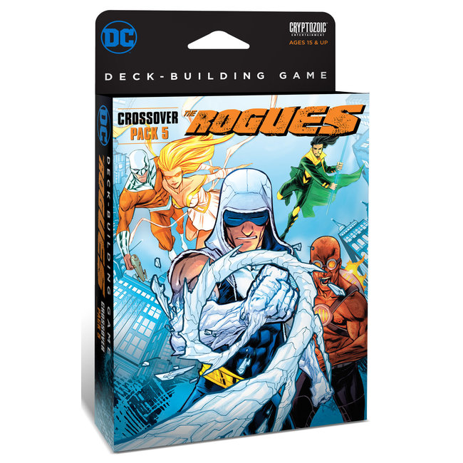 Cryptozoic Entertainment DC Deck-Building Game: Crossover#5 The Rogues