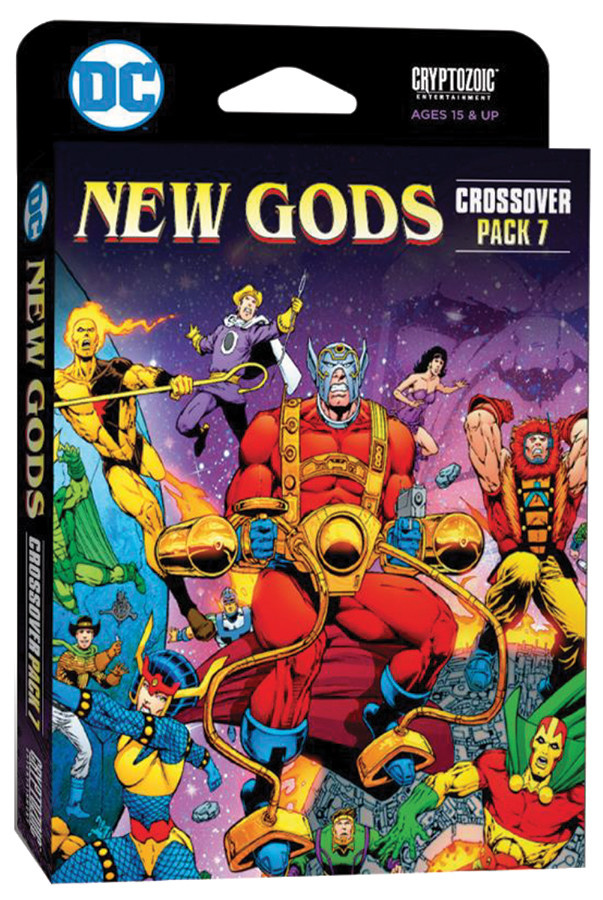 Cryptozoic Entertainment DC Deck-Building Game: Crossover #7 New Gods