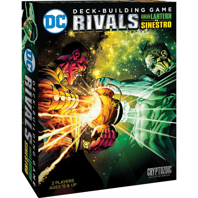 DC Deck-Building Game: Rivals Green Lantern vs Sinestro