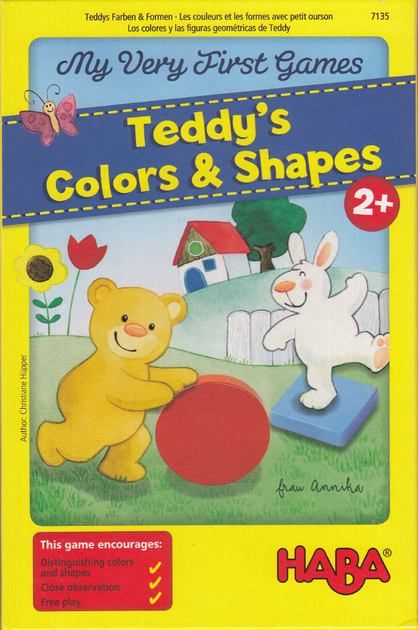 HABA MVFG Teddy's Colors and Shapes