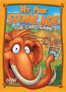 Z-Man Games My First Stone Age Card Game