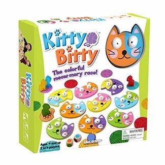 Blue Orange Kitty Bitty