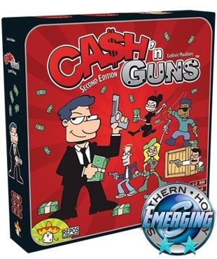 Asmodee North America Cash n Guns Second Edition