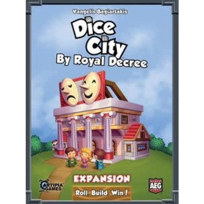 Alderac Entertainment Group (AEG) Dice City By Royal Decree