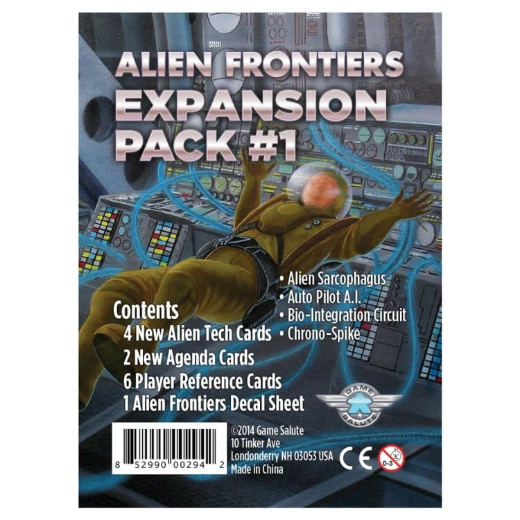 Clever Mojo Games Alien Frontiers: Expansion #1