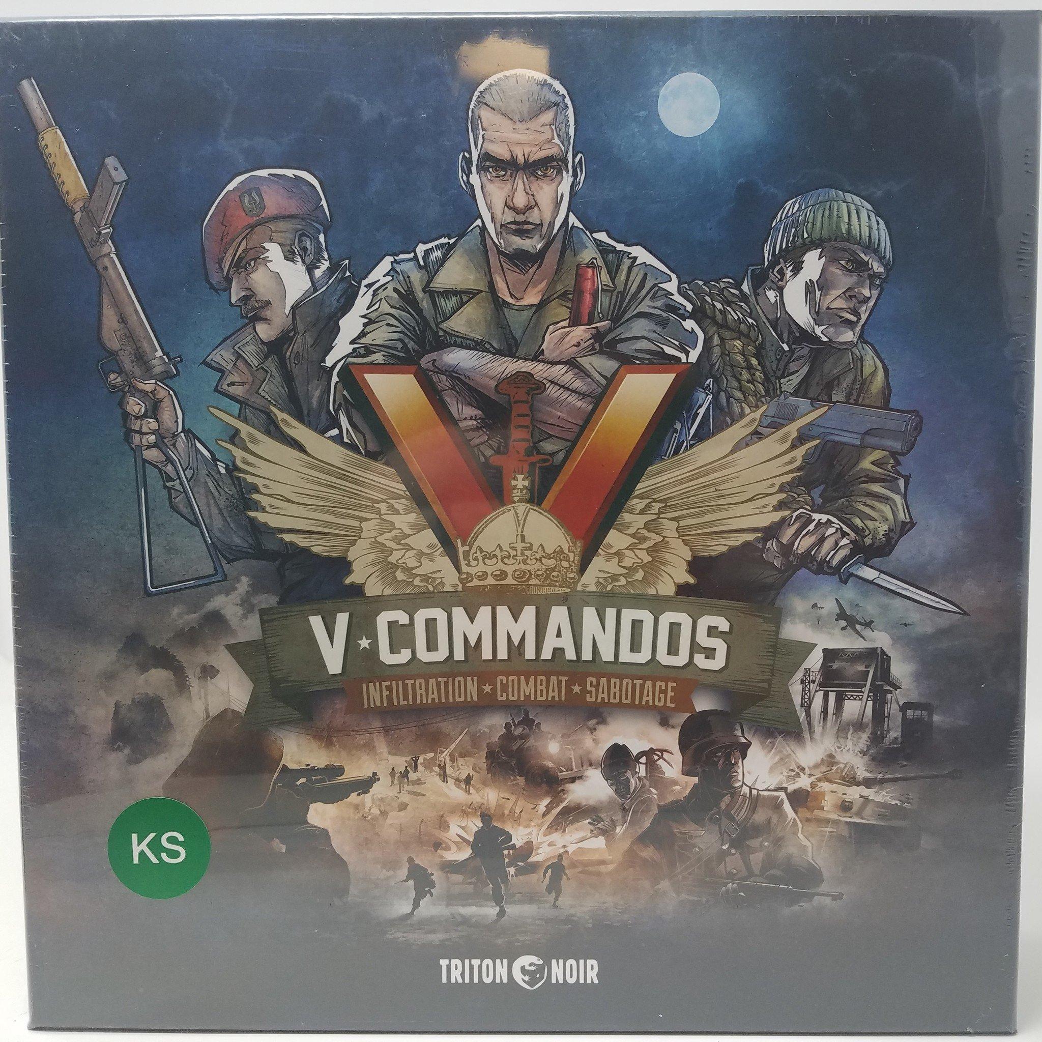 V-Commandos: Base Game (Triton Noir)
