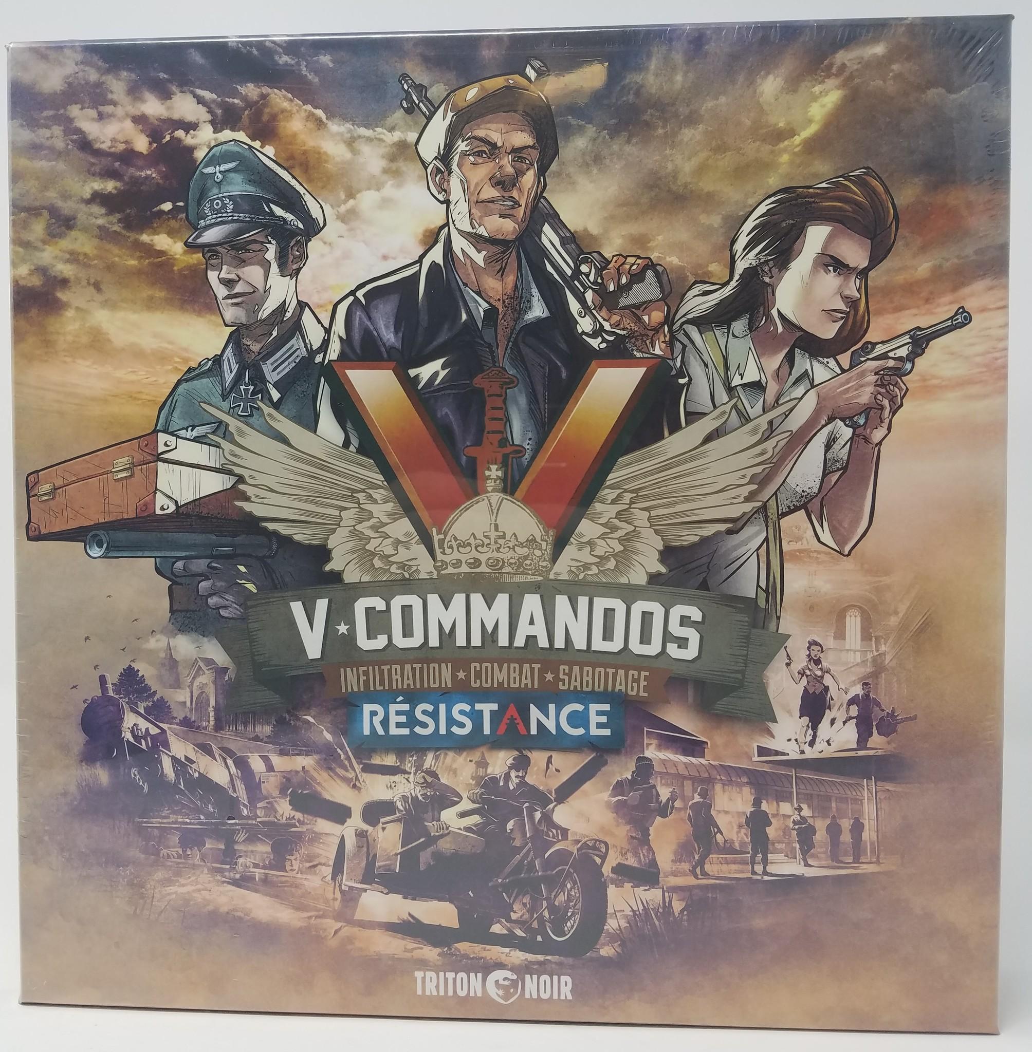 V-Commandos Expansion: Résistance