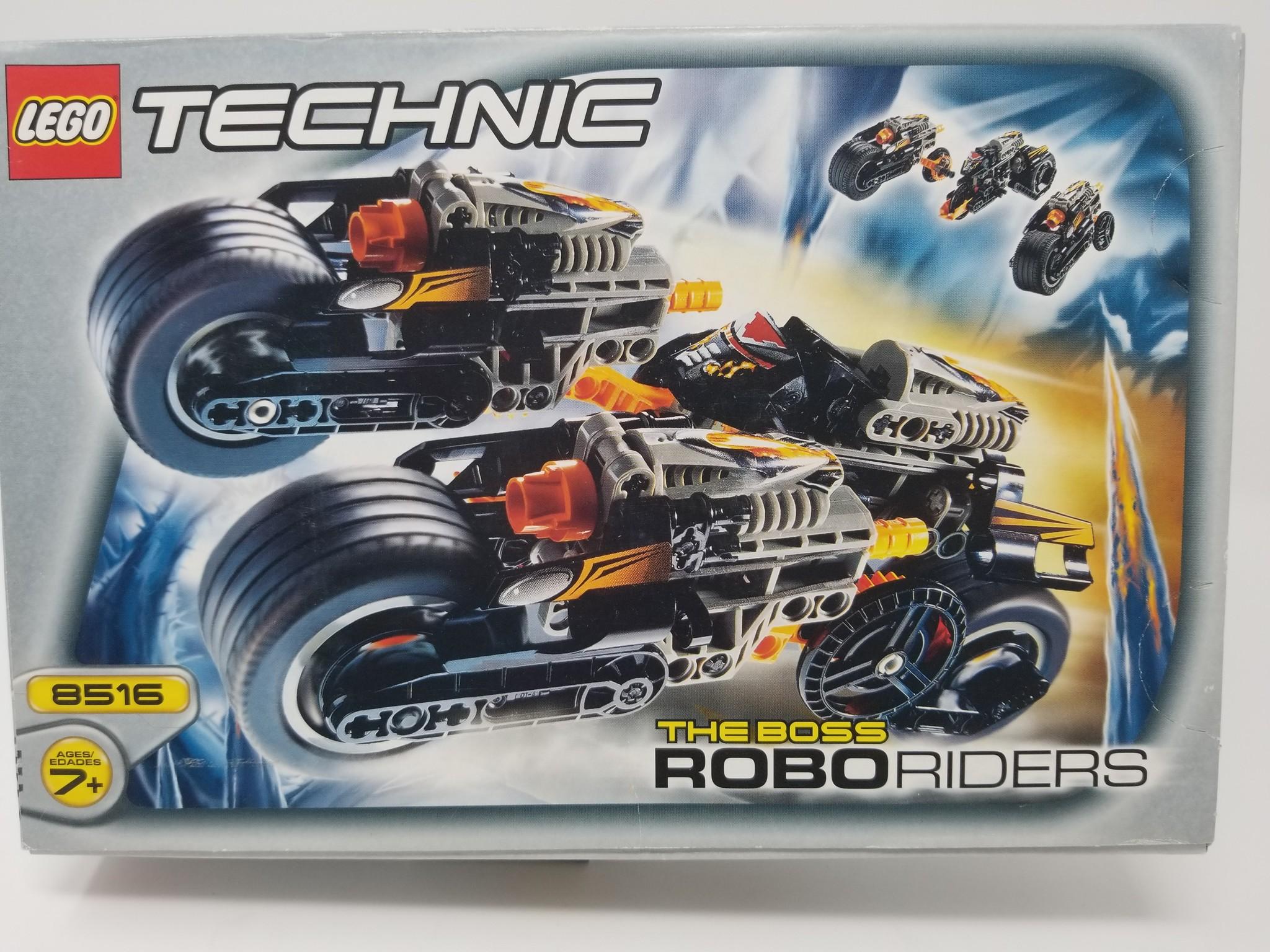LEGO #8516 Technic: The Boss RoboRiders