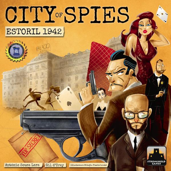 Stronghold Games City of Spies: Estoril 1942