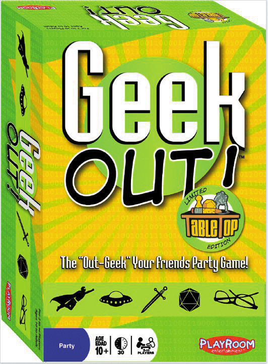 Playroom entertainment Geek Out! Tabletop Limited Edit