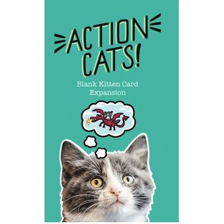 TWOGETHER STUDIOS Action Cats!: Blank Kitten Card Expansion