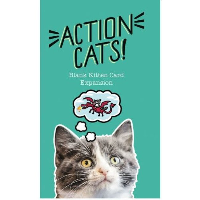 Action Cats!: Blank Kitten Card Expansion