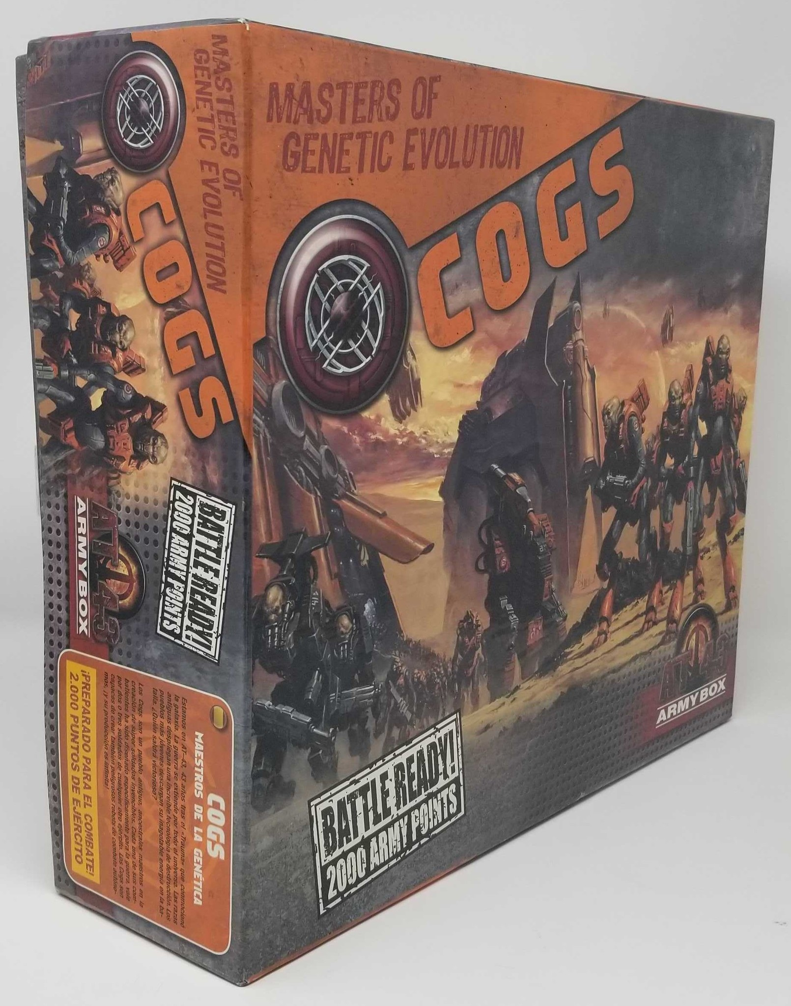 AT 43 COGS Army Box - Rakham