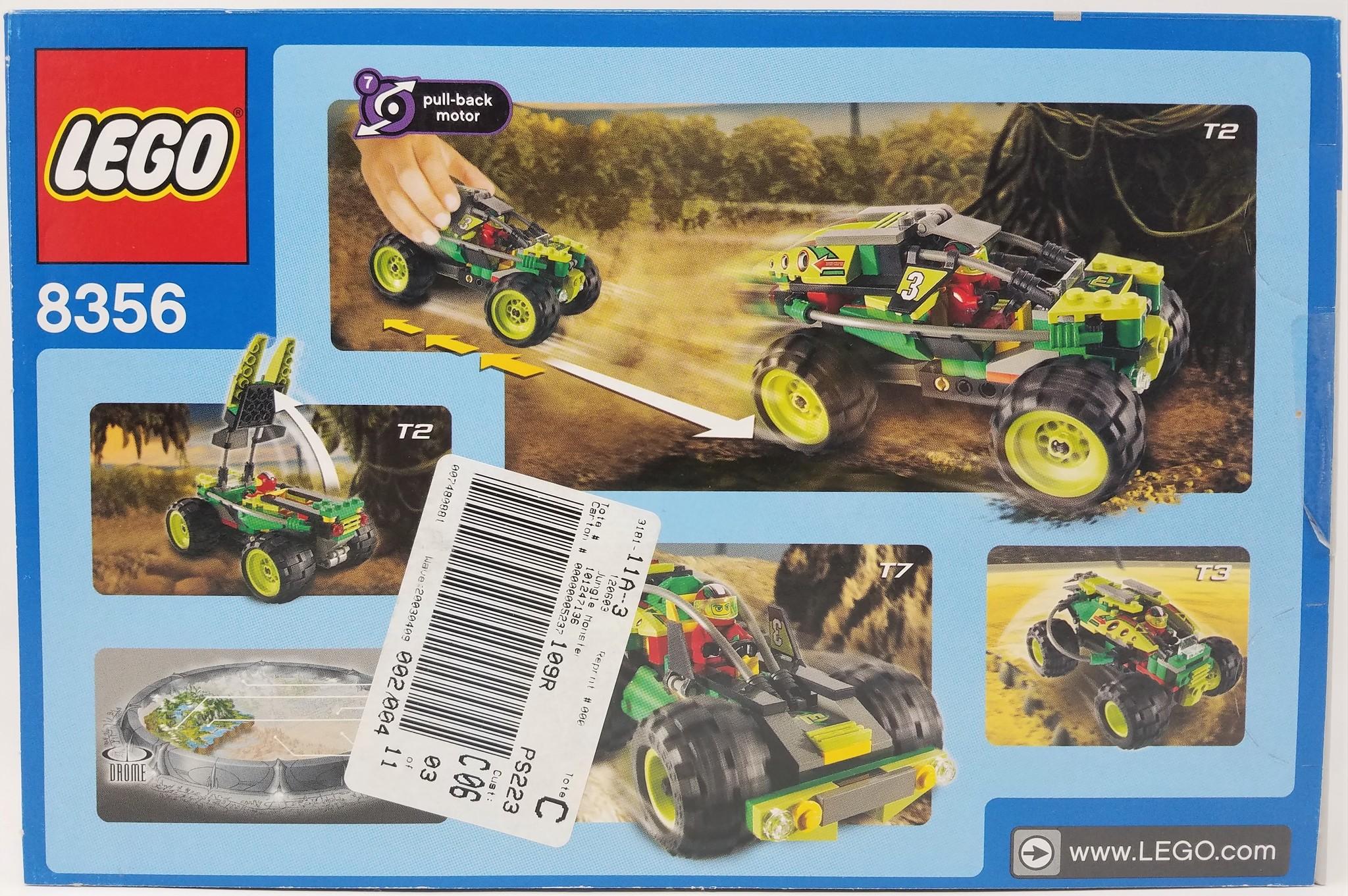 LEGO #8356 Racers: Jungle Monster