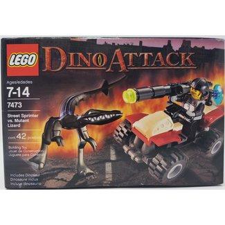 LEGO #7473 Dino Attack: Street Sprinter vs Mutant Lizard