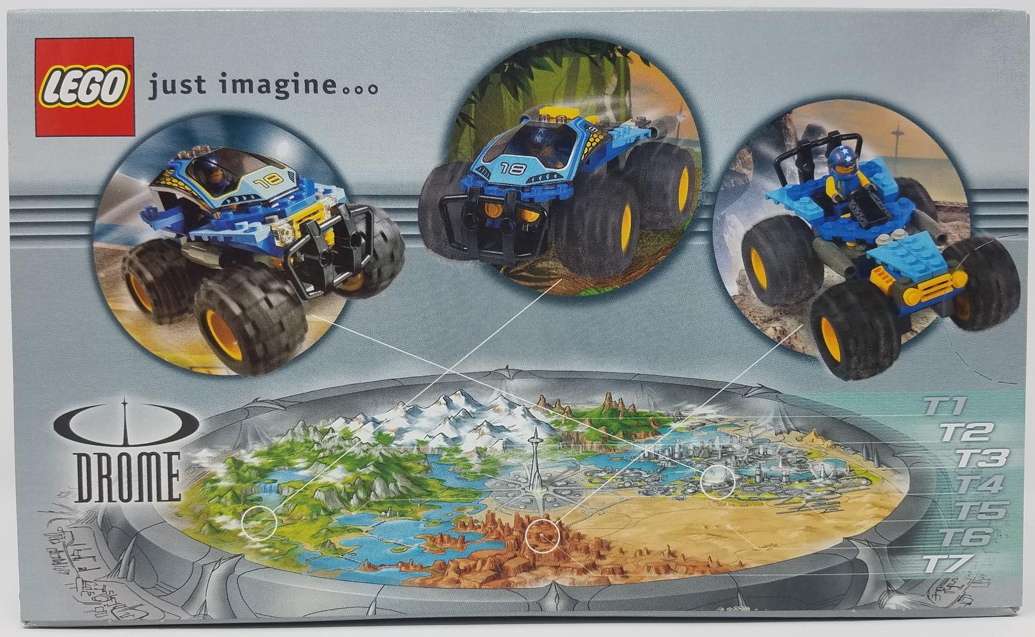 LEGO LEGO #4585 Racers: Nitro Pulverizer
