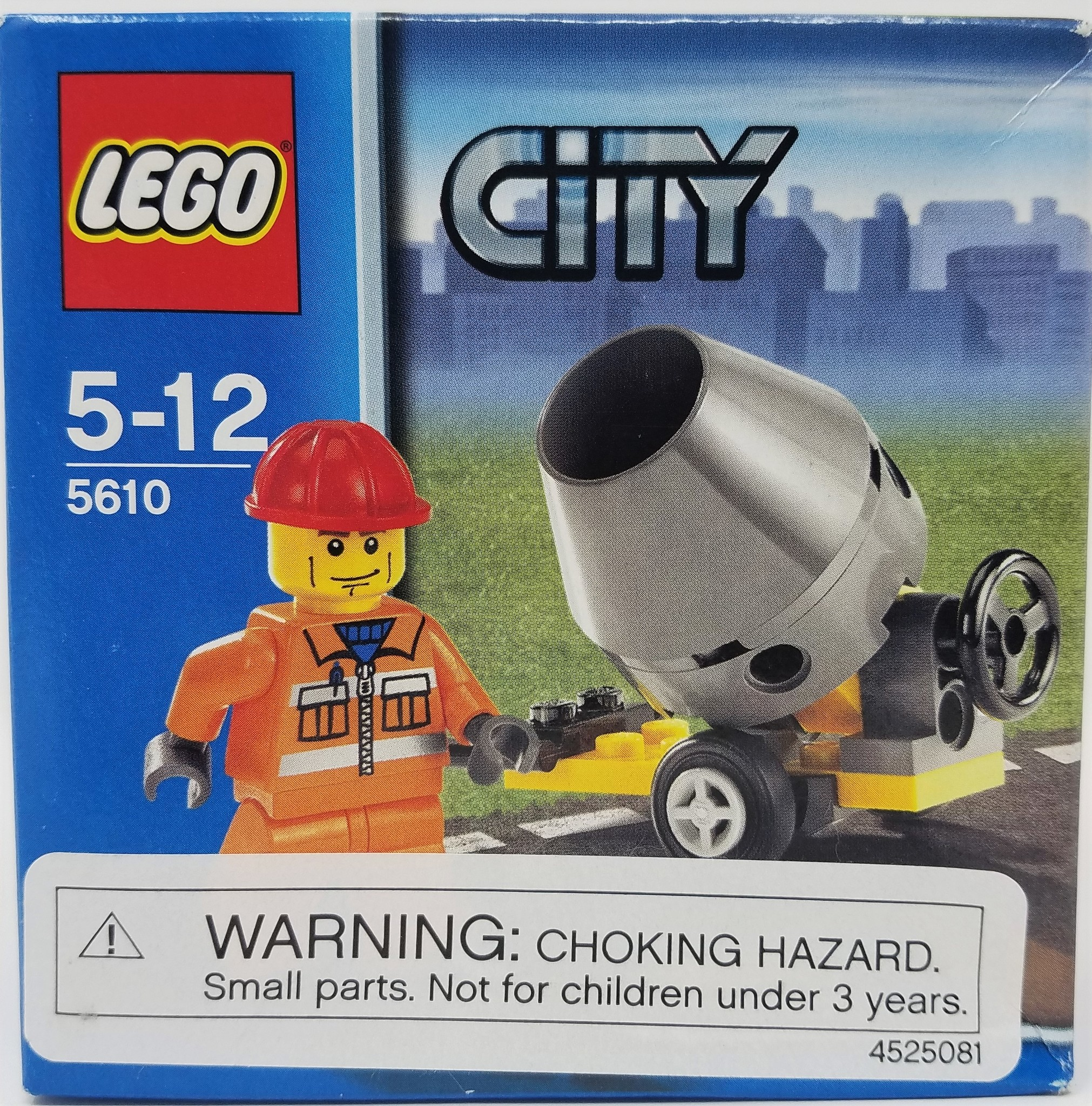 LEGO LEGO #5610 City: Cement Mixer and Worker Figure
