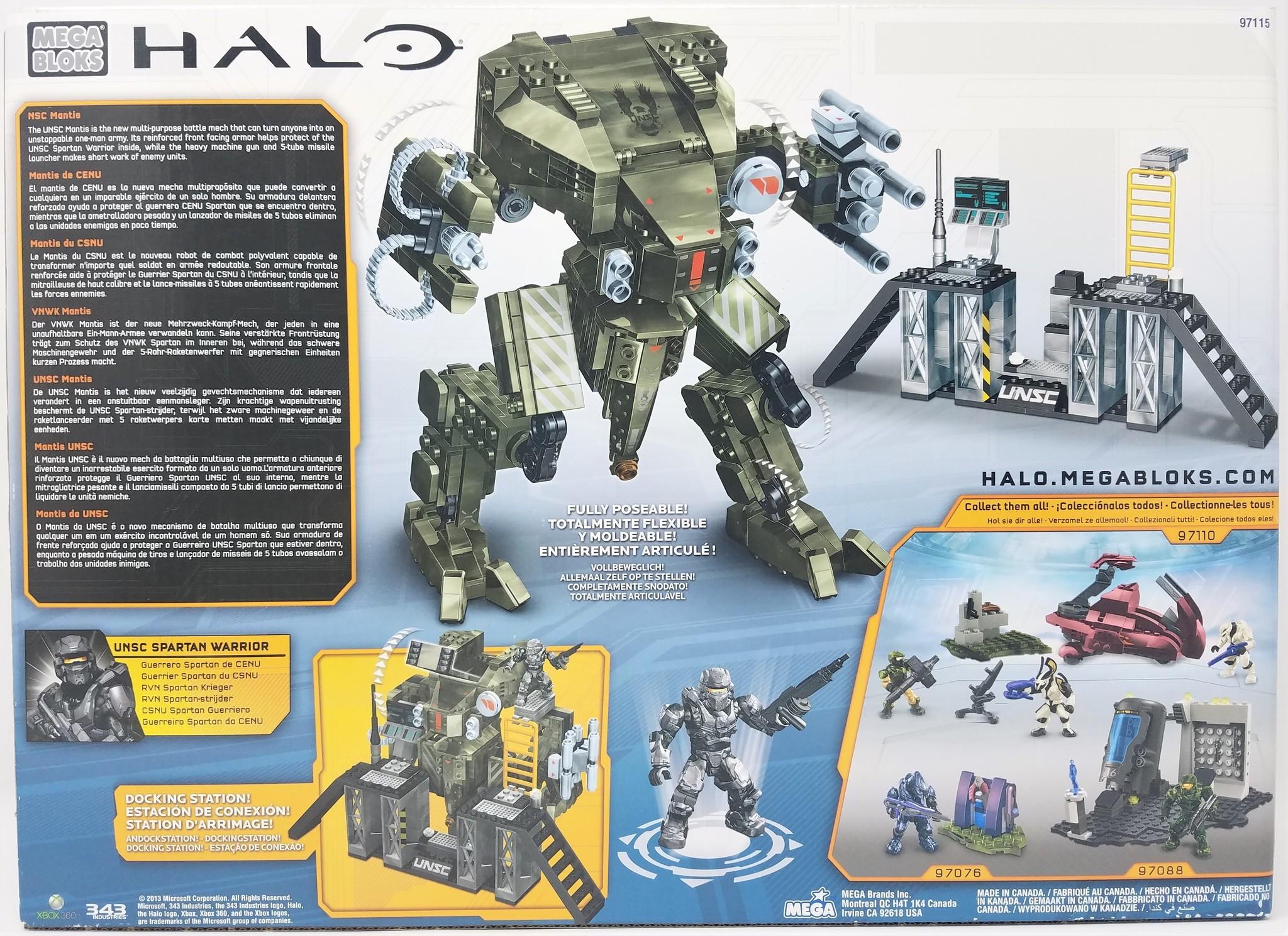 Mega Bloks Mega Bloks: Halo UNSC Mantis